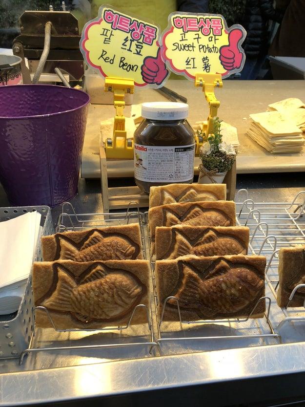 Croissant Taiyaki: $3