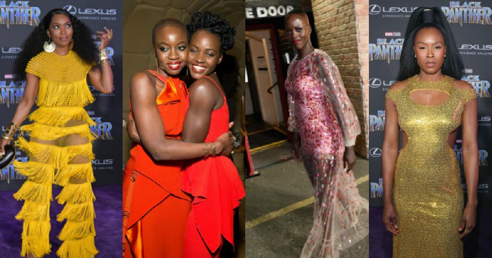 Des photos du casting de «Black Panther» en train d'être magnifique
