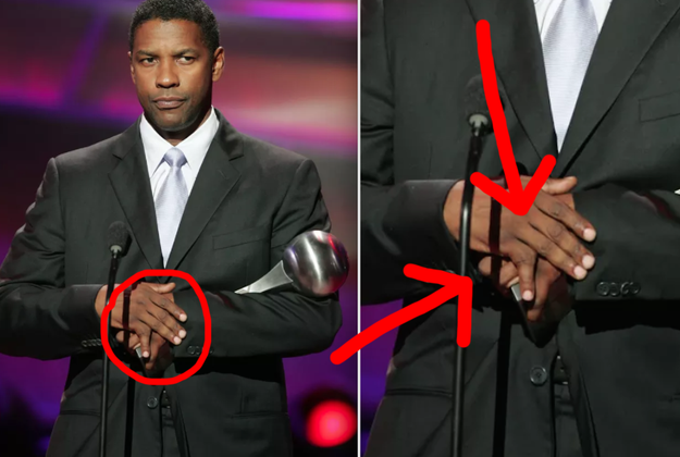 Denzel Washington dislocated his pinky so many times that his finger would constantly fall out of place when he moved his hand.