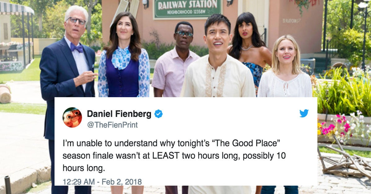 """21 Tweets For Everyone Still Not Over How Amazing """"The Good Place"""" Season Finale Was"""