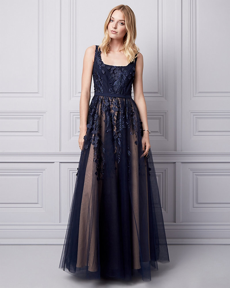 b0342dc53ce0 Le Château is a Canadian brand with evening gowns that look as fancy as its  name sounds.