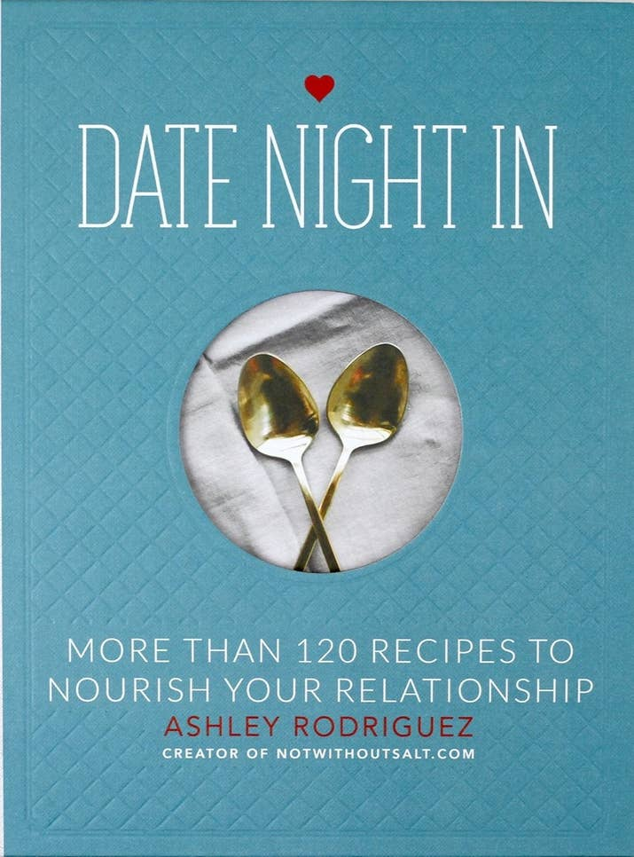 "It's packed with upscale meals like crostini with ricotta, fennel-crusted lamb chops, and dulce de leche!!Promising review: ""I absolutely LOVE this book. We've done three dates so far, and each one of them have been incredibly special and absolutely delicious. They layout of the book is cleverly divided up by season, which is really nice. I also love how she has a timeline of what to do days before the date."" —Ep86Get it form Amazon for $16.26, Barnes and Noble for $19.50, or at your local bookseller through IndieBound here."