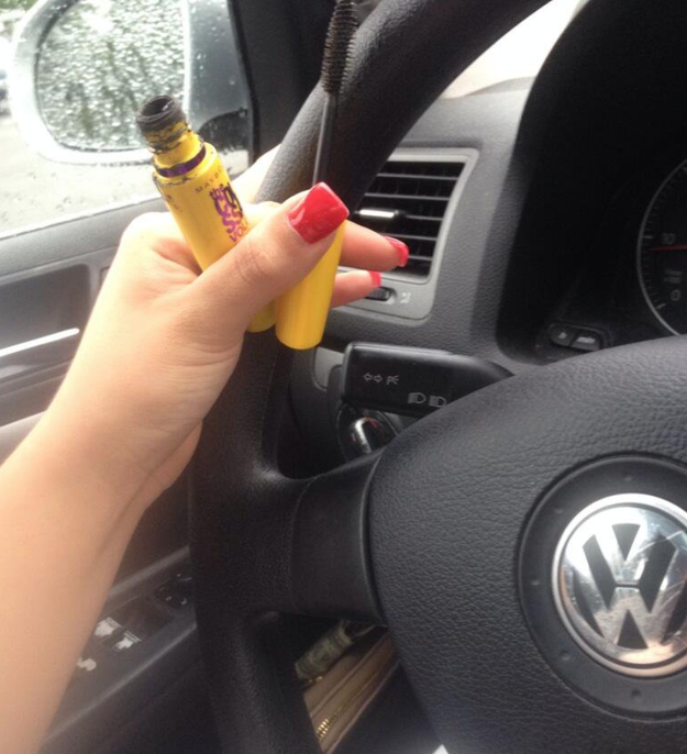 And you've mastered the art of putting on mascara at stoplights.