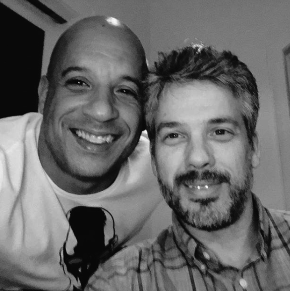 And so is Vin Diesel. By the way, his real name is actually Mark Sinclair.