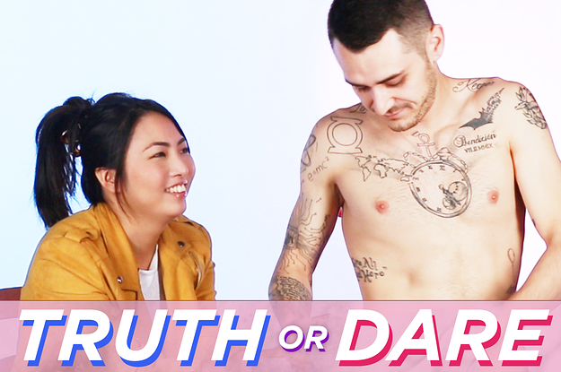 www.buzzfeed.com: Blind Dates Play Truth Or Dare