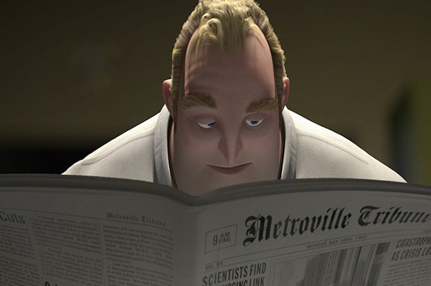 """My Jaw Dropped When I Discovered This Detail From """"The Incredibles"""""""