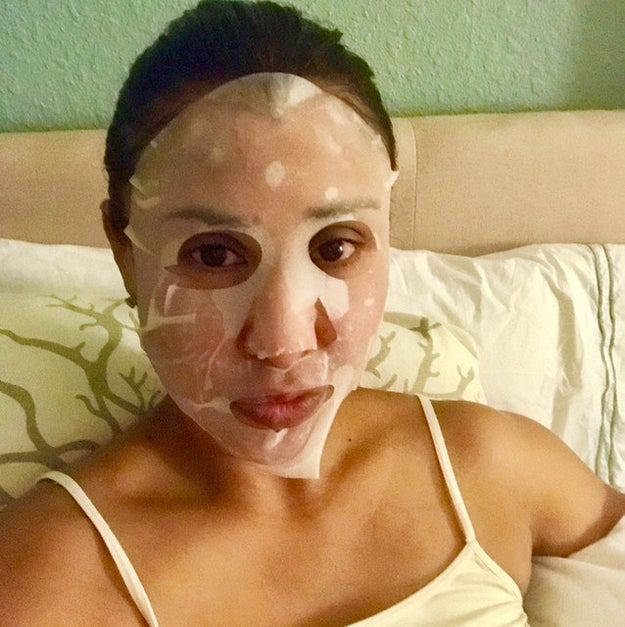 When picking out a sheet mask, make sure you're getting something that will not only make for a cute Instagram post, but also helps any skin concerns you may have. If you skipped out on exfoliation one week, then go for a sheet mask that can help with that.