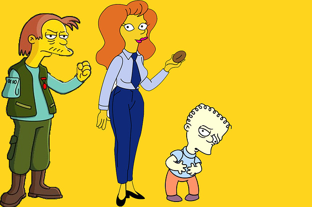 "Only A Real Fan Of ""The Simpsons"" Can Identify These Minor Characters"