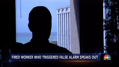 The Man Behind the Hawaii False Missile Alert