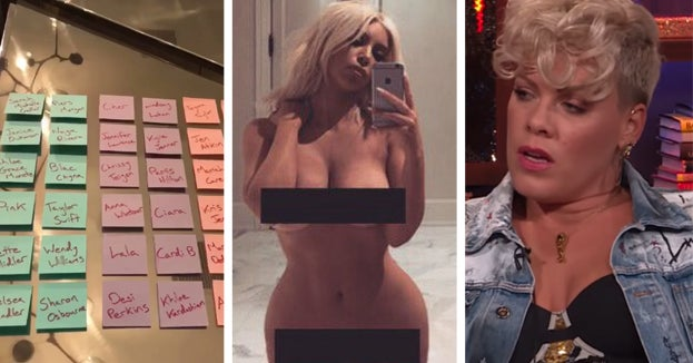 """Here's All 12 Of The People That Made Kim Kardashian's """"Haters"""" List And Why They're There"""