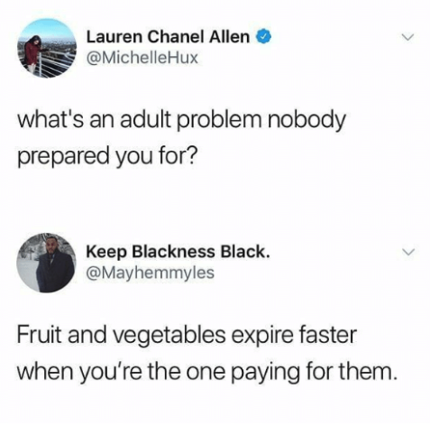 It's about eating healthy: