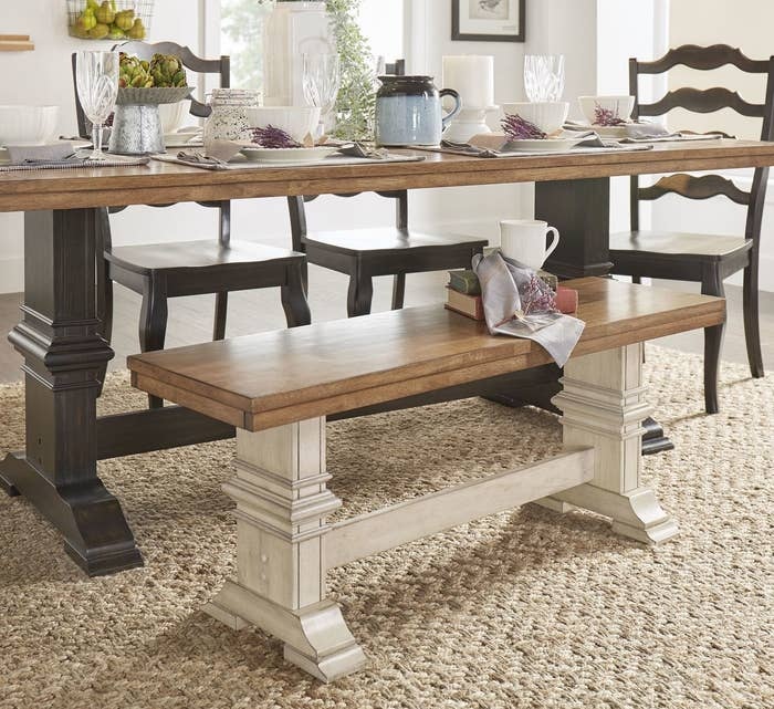 Get this dining bench here.