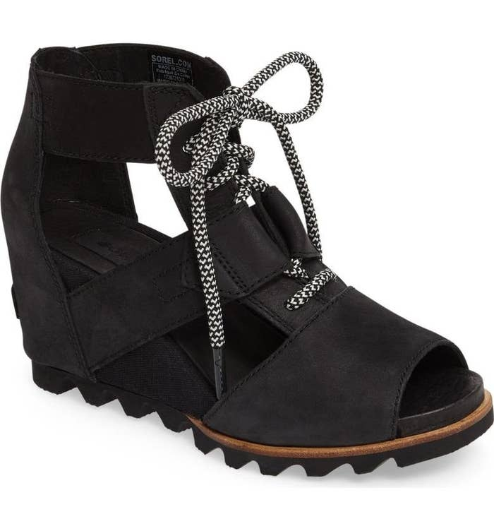0f2c1b2e0b3a Chunky cage sandals perfect for anyone who loves both boots and foot  breezes.