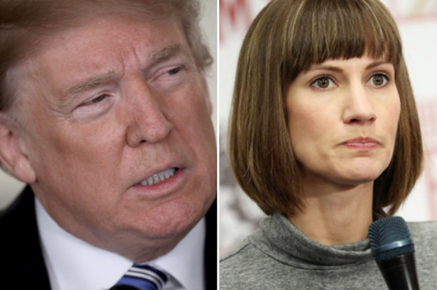 Trump Lashed Out At A Woman Who Says He Kissed Her For 2 Minutes Without Her Consent