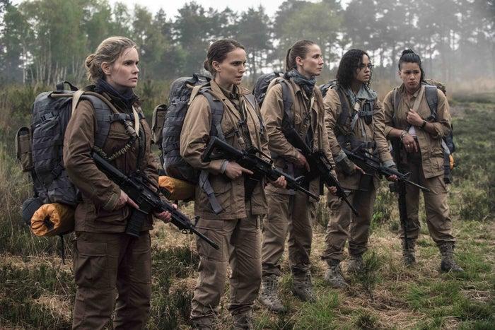 From left: Jennifer Jason Leigh, Natalie Portman, Tuva Novotny, Tessa Thompson, Gina Rodriguez.