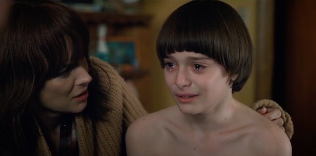 Joyce and Will Byers (Stranger Things)