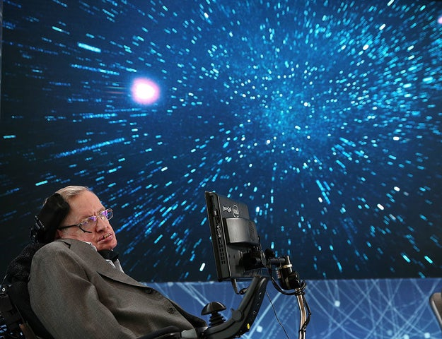 Steven Hawking held a party for time travelers and nobody showed up.