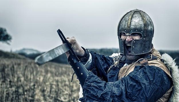 Finally, the Vikings had rap battles.