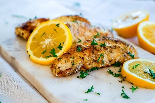 Zingy Lemon Fish