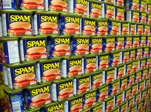 "Spam is short for ""Spiced Ham""."