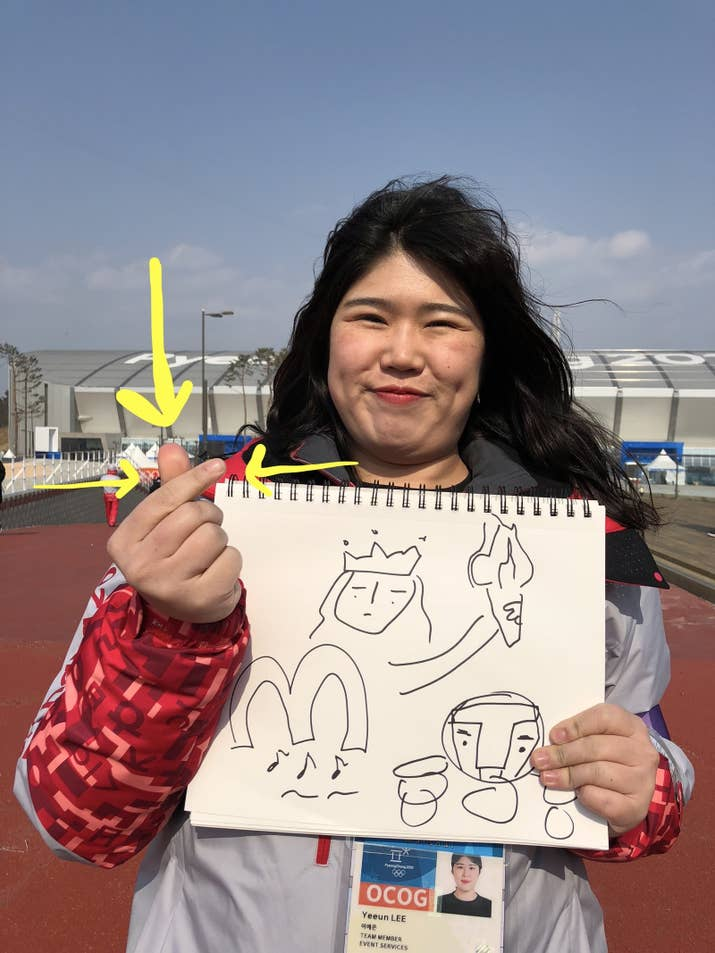 Btw, we asked her to tell us first three things she thought of about America. She said McDonalds, the Statue Of Liberty and Iron Man. Lol.