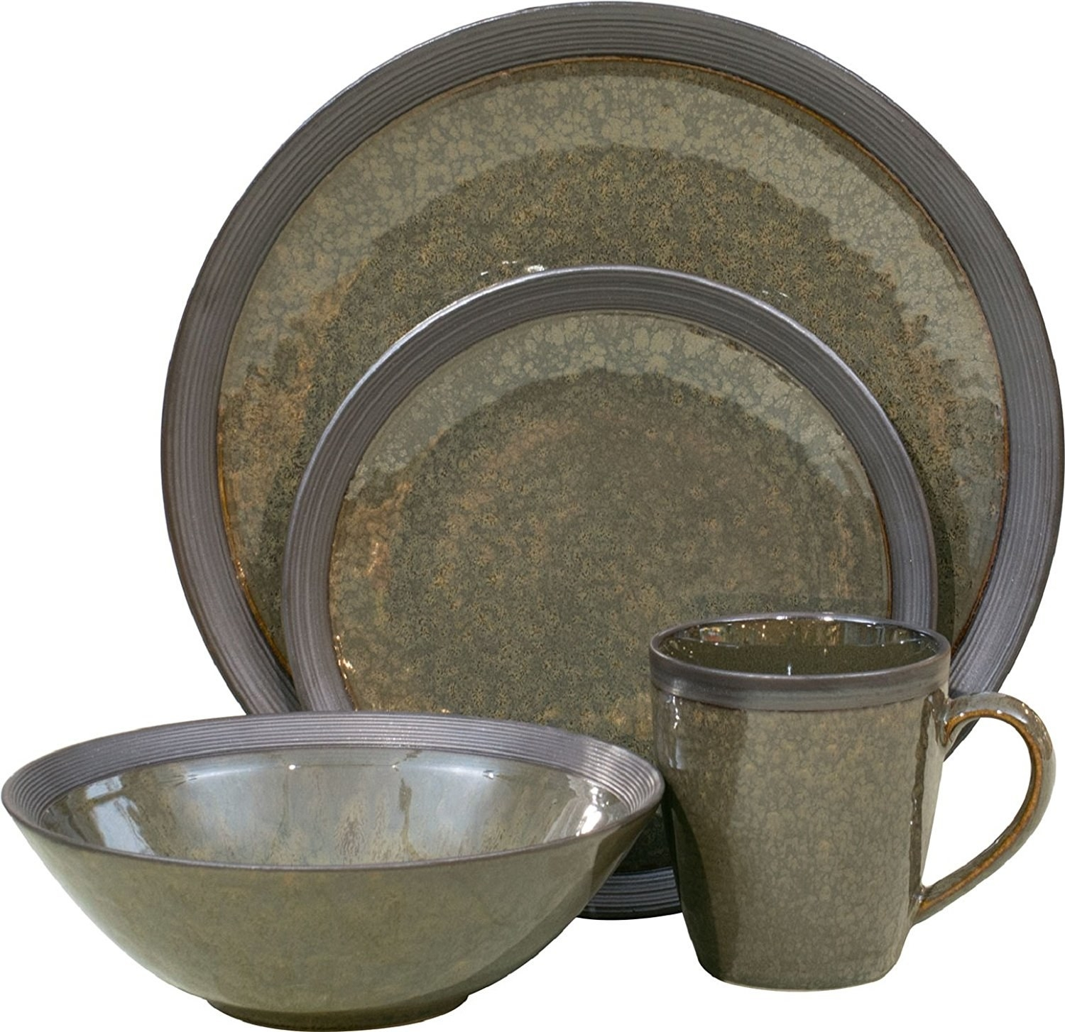 Service for four includes four dinner plates four salad plates four soup bowls  sc 1 st  BuzzFeed & 15 Of The Best Dishware Sets You Can Get On Amazon