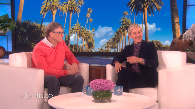 Ellen DeGeneres knows how to get great guests on her show, but she might've just topped herself this time, because her latest guest was none other than Microsoft billionaire Bill Gates.