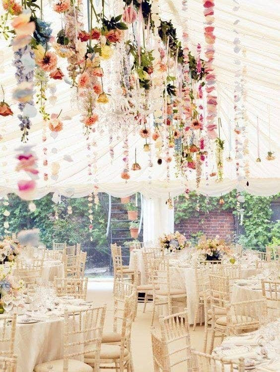Searches for this beautiful way to be surrounded by pretty florals (and get pollen in your eyes) are up by 346%.