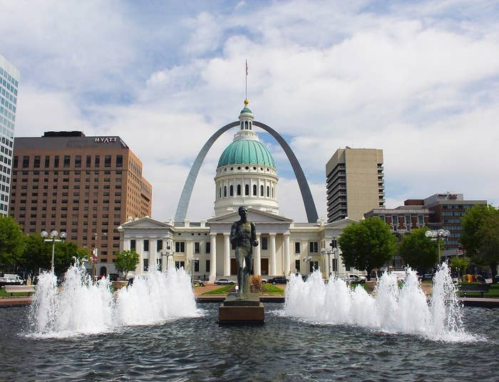 St. Louis is now being considered one of America's top up-and-comers.