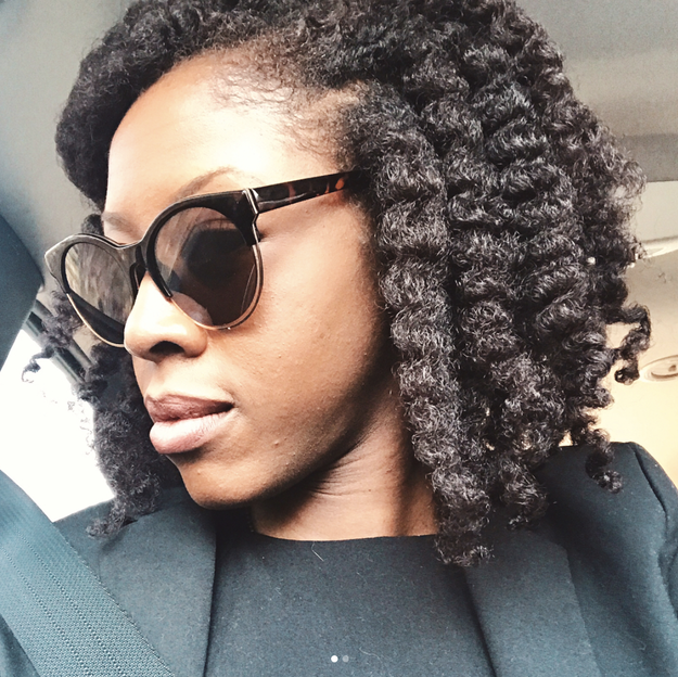 """If your twist-out is starting to look a little old, but you're not ready to re-do it, just re-do the edges. It'll look like a fresh twist-out without all the work."""