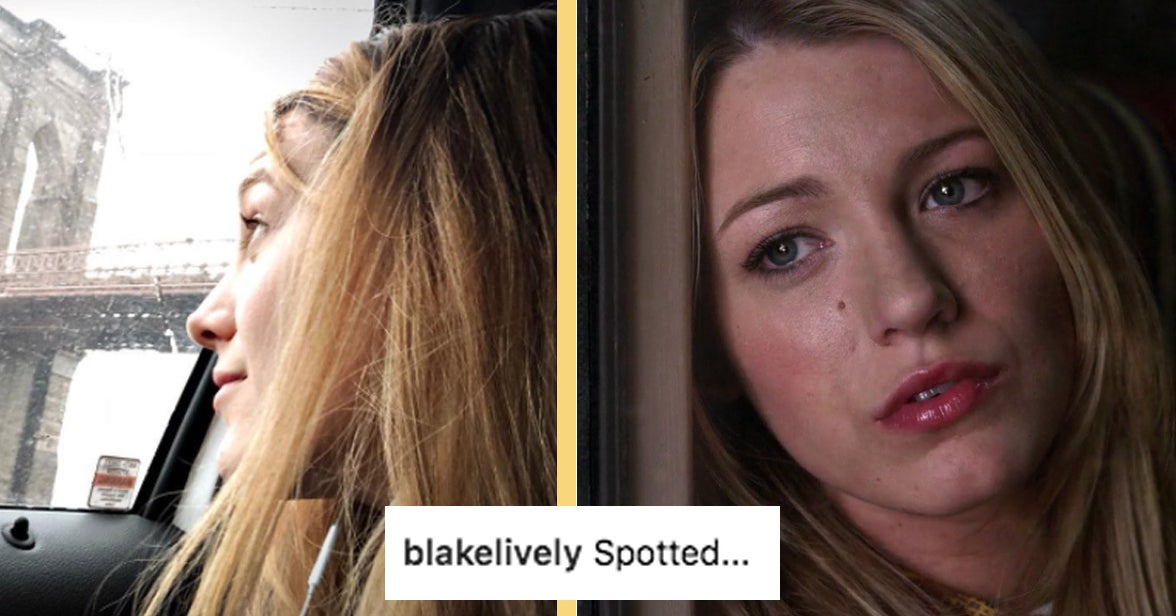 "Blake Lively Posted A Sweet ""Gossip Girl"" Nod On Instagram"