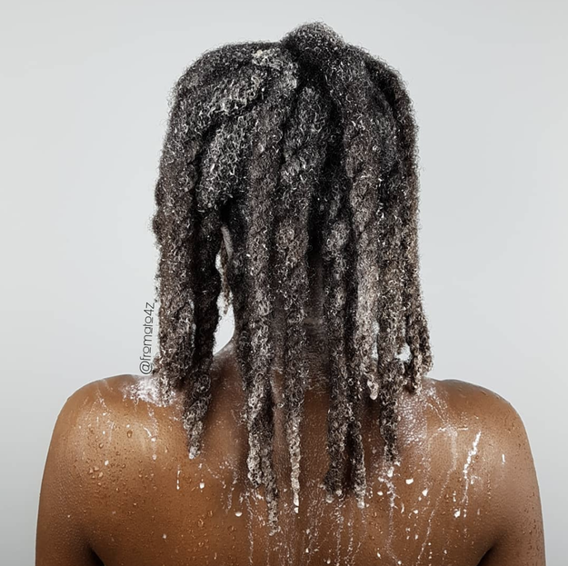 """Wash your hair in twists. It's easier to manage and is already detangled."""