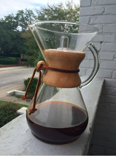 """Just pop in a filter with your favorite grinds, pour in your hot water, and enjoy delish fresh coffee. """"The Chemex makes the best coffee."""" —jillm409d13553Get it from Amazon for $36.95+ (available in four sizes, classic and with handle), or from Bed Bath & Beyond for $38.99+ (available in three sizes, classic)."""