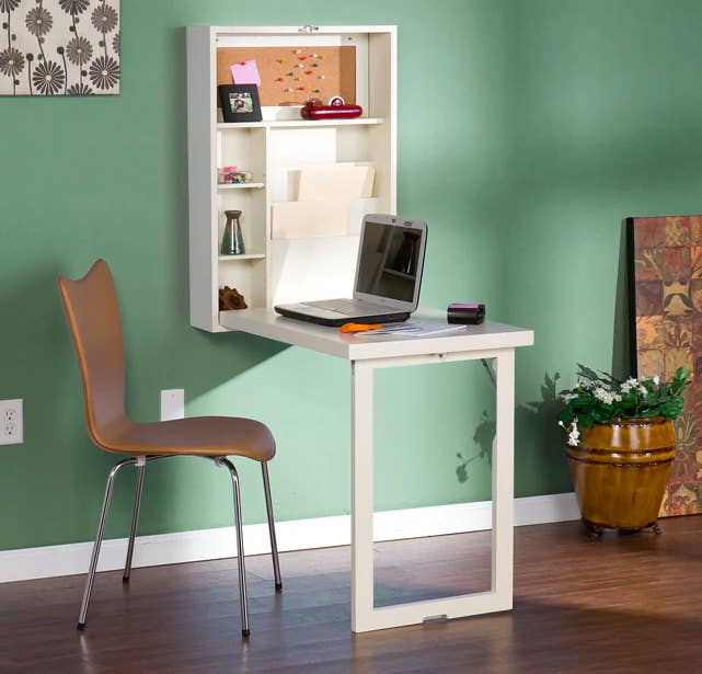 features romantic space saving folding. A Fold-down Kitchen Table/desk To Create Some Much-coveted Standing Room For Guests. Features Romantic Space Saving Folding -