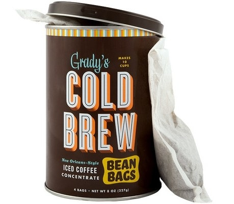 A pack of 12 cold brew bags to make yummy, highly caffeinated cold brew at home.