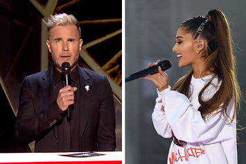 There Was A Moving Tribute To The Victims Of The Manchester Attack At The Brits
