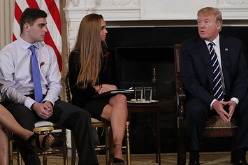 Family Members Of School Shooting Victims Beg Trump In Person To Take Action