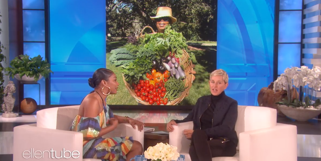 When Tiffany Haddish went on The Ellen Show this week, she thought she was just going to chat about her love of Oprah, vegetables, and Oprah's vegetables: