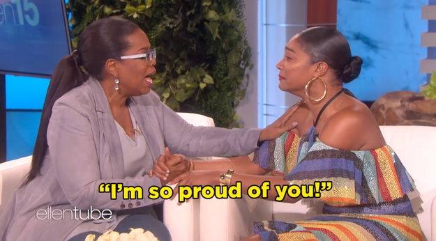 And then Oprah said the words we've all been dying to hear from Oprah: