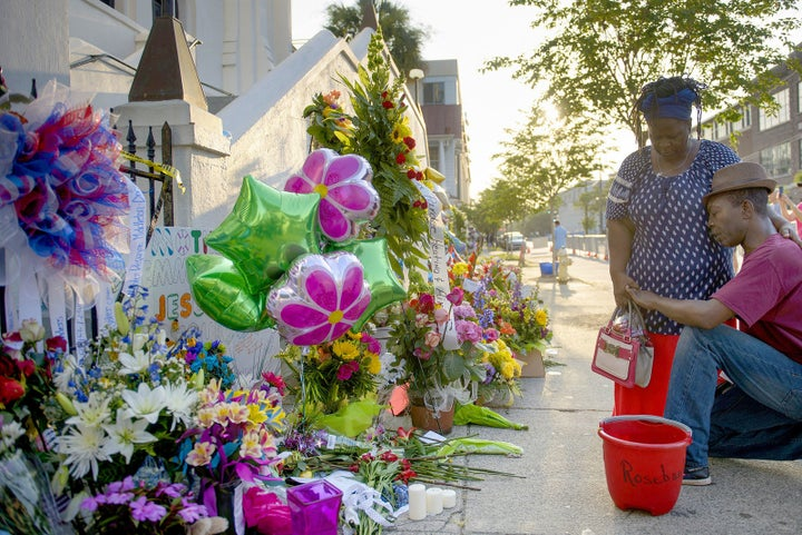 Charleston church shooting — June 17, 2015