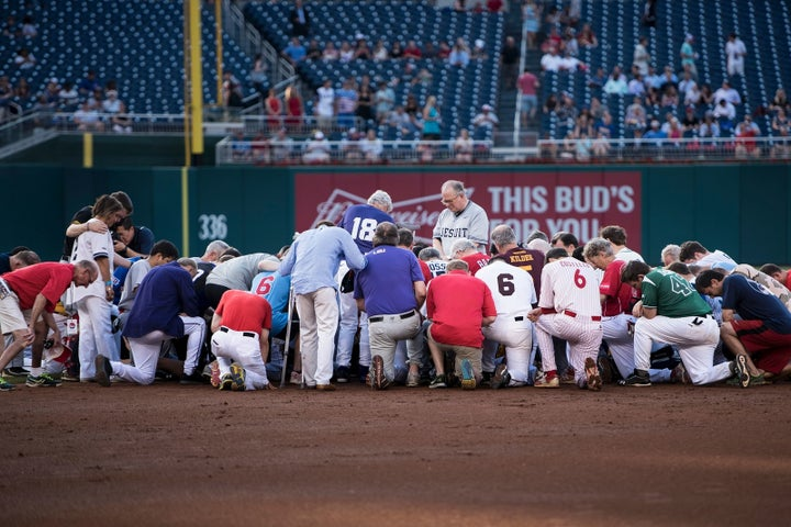 Congressional baseball shooting — June 14, 2017