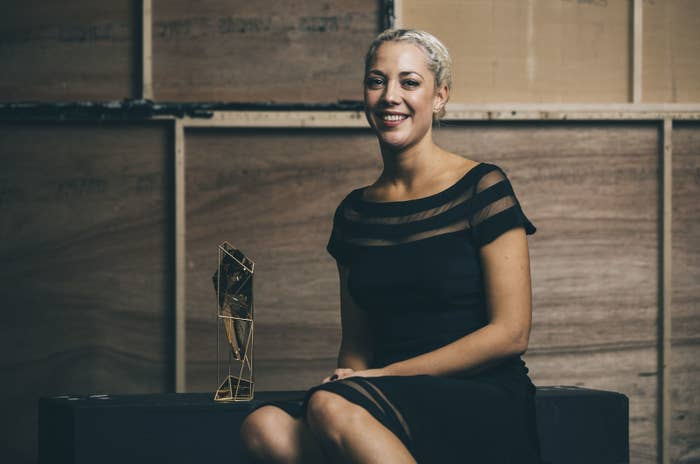 Camille Gatin on receiving a British Independent Film Award
