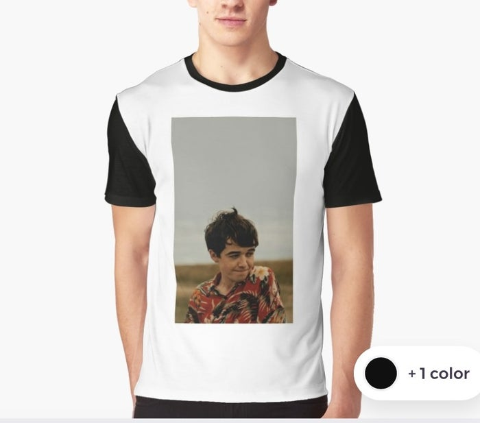 *heart eyes emoji* amirite? Get it here https://www.redbubble.com/people/truegenius/works/29867383-the-end-of-the-f-ing-world?carousel_pos=2&p=mens-graphic-t-shirt&ref=shop_app_recommended_works&ref_id=30199662 for $36.00