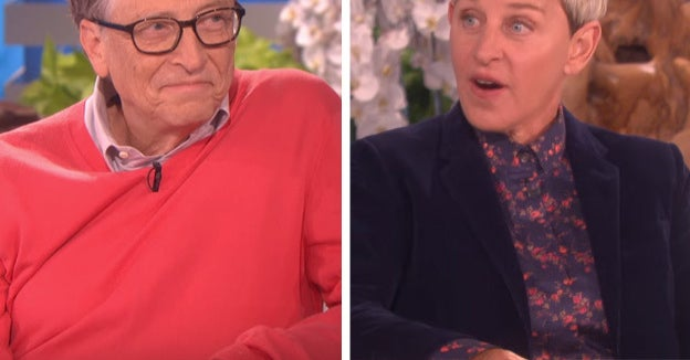 Ellen Degeneres Asked Bill Gates What It's Like To Be A Billionaire And Now I Feel Poor AF