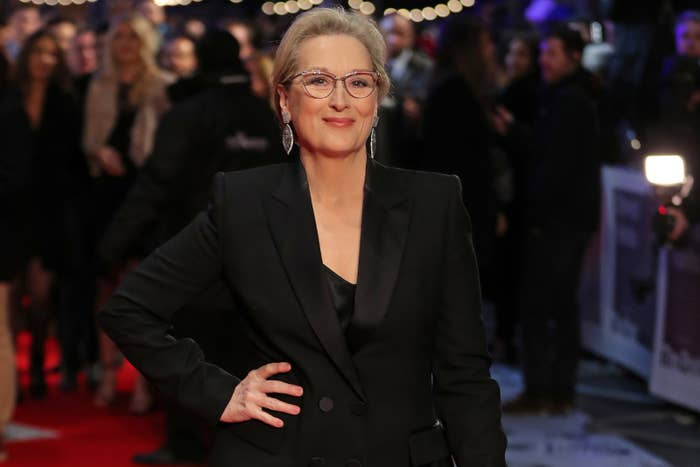 """The quote is part of Meryl Streep's initial statement about the allegations against Weinstein from Oct. 9, 2017, in which she said, """"One thing can be clarified. Not everybody knew. Harvey supported the work fiercely, was exasperating but respectful with me in our working relationship, and with many others with whom he worked professionally."""""""