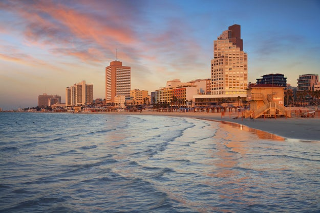 Tel Aviv, Israel: For a diverse melting pot of European, Middle Eastern, Mediterranean, and North African flavors.