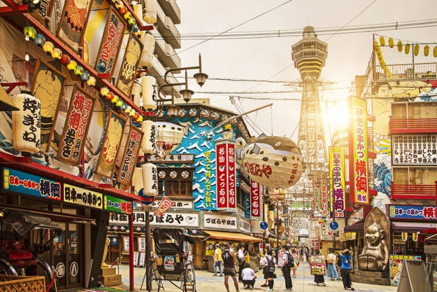 Osaka, Japan: For bustling food markets and budget-friendly comfort food.
