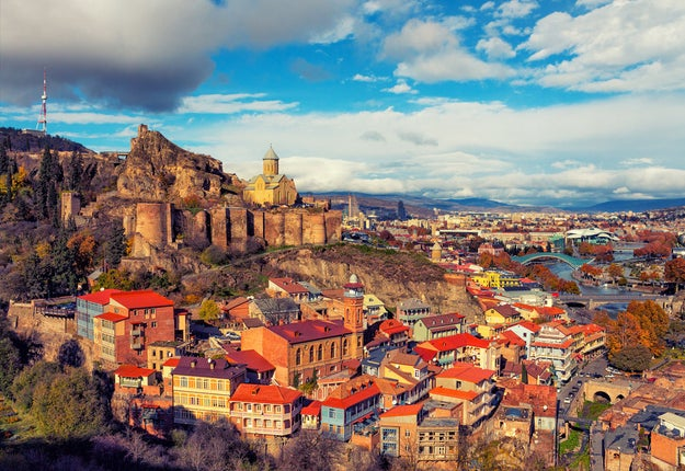 Tbilisi, Georgia: For European-meets-Asian cuisine and a wine scene that's deeply rooted in history.