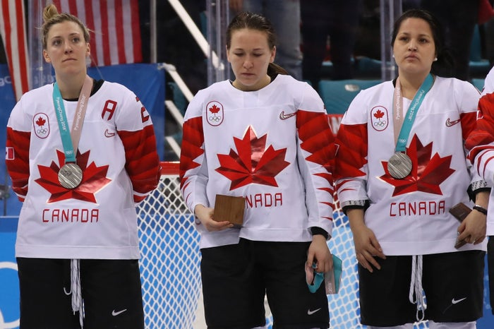 You have to understand that even though silver in most things is pretty good, silver in hockey to the US is kind of a buzzkill.