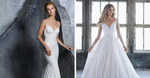 Choose Between These Wedding Dresses And Well Tell You If Youre Creative Traditional Or Both